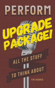 PERFORM Book AND Upgrade Package